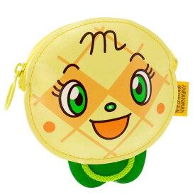 送料無料 メロンパンナちゃん コインパース 小銭入れ 財布 キャラクターグッズ コインケース アンパンマンシリーズ ms042