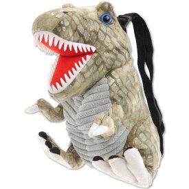 恐竜ぬいぐるみ リュックサック ブラウン キャラクターグッズ おもちゃ DS ゲーム機 カセット 入れて持ち運び便利 Un053