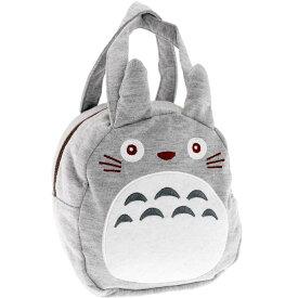 送料無料 トトロ 手提げバッグ スエット素材 KNBD1 キャラクターグッズ ミニバッグ かばん 化粧ポーチ Sk704