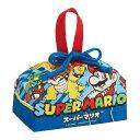 送料無料 スーパーマリオ ランチボックス 弁当箱入れ 巾着袋 KB7 キャラクターグッズ 巾着 マリオ クッパ クリボウ Sk…