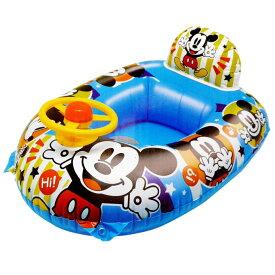 送料無料 ミッキー ミニー ぷちゃぷちゃボート 浮き輪浮き具 青 海 川 プールで楽しめる Ah103