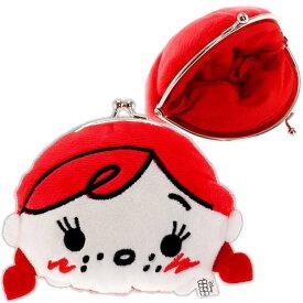 アナと雪の女王 アナ がまぐち 財布 コインケース K6597A ディズニー キャラクターグッズ ふかふか触り心地のがまくち財布 Ap010