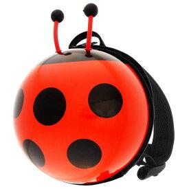 送料無料 Mini Ladybug バックパック てんとうむし型リュックサック レディバグ ハードケースてんとうむしリュック かばん Ha325