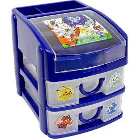 送料無料 ポケモン サンムーン ミニチェスト 収納ボックス CHE3N キャラクターグッズ おもちゃ箱 小物入れ Sk1582