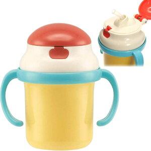 キャンディカラー ストローホッパー 両手持ちマグ 水筒 KSH2 キャラクターグッズ 赤ちゃん用マグボトル Sk1066