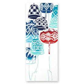 【2枚以上で送料無料】【宮本★送料無料キャンペーン】【宮本】kenema -けねま-注染手ぬぐい夏の風物詩 切子風鈴 【日本製 Made in Japan】【NEW201902】