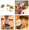 三木家木制玩具火车在科洛科洛 ★ 家禽 fs3gm
