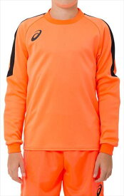 送料無料(※沖縄除く)[asics]アシックスジュニアサッカーキーパーウェアジュニア GKゲームシャツ(2104A006)(700)FLASH CORAL