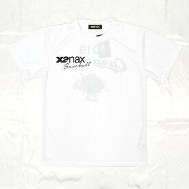 [xanax]ザナックス広島東洋カープ 限定バッテリーTシャツ(BW191CBT)(01)ホワイト