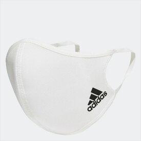 【2点までメール便可】[adidas]アディダスフェイスカバー 3枚組(KOH81)(H34578)ホワイト