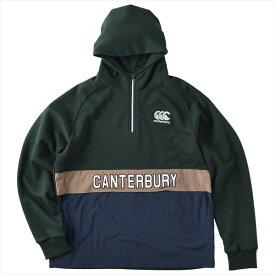 [canterbury]カンタベリーフレックスウォーム CNT プルオーバー スウェット(RA40593)(49)フォレストグリーン