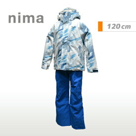 [nima]ニーマトドラー ジュニア キッズスキーウェア上下セット(JR9052)(21P)ホワイト