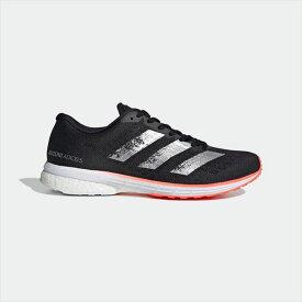 [adidas]アディダスランニングレースシューズadizero Japan 5 wide(EE4303)コアブラック/シルバーメタリック/シグナルコーラル