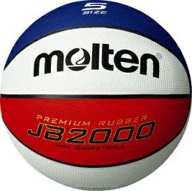 [molten]モルテンゴムバスケットボール5号球JB2000(B5C2000-C)赤×青×白