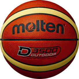 [molten]モルテン外用バスケットボール7号球D3500(B7D3500)ブラウン×クリーム