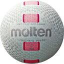 [molten]モルテンソフトバレーボールデラックス糸巻タイプ・ファミリー用(S3Y1500-WP)ホワイト×ピンク