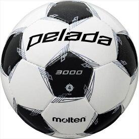 [molten]モルテンサッカーボール検定4号球ペレーダ3000(F4L3000)ホワイト×メタリックブラック