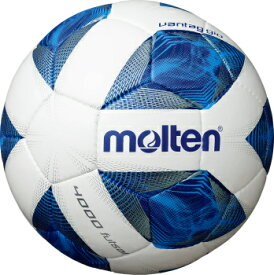 [molten]モルテンヴァンタッジオフットサル4000 公式試合球フットサルボール 検定4号球(F9A4000)ホワイト×ブルー