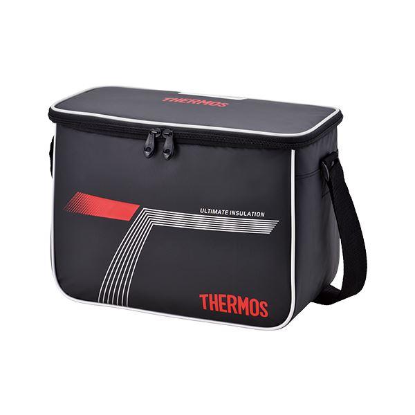 [THERMOS]サーモススポーツクーラー 10L(REI0101)(BKR)ブラックレッド