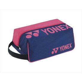 [YONEX]ヨネックスシューズケース(BAG2133)(675)ネイビー/ピンク