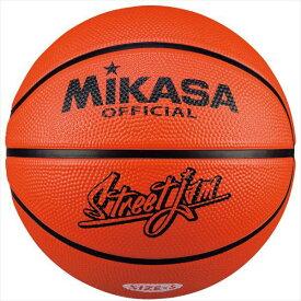 [MIKASA]ミカサゴムバスケットボール5号球(B5JMR-O)オレンジ