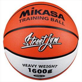[MIKASA]ミカサゴムバスケットボール重量6号球 トレーニング用(B6JMTR-O)オレンジ/ホワイト