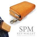 【送料無料】【SPM】バッファローレザー マルチ キーウォレット 6連 キーホルダー & コインケース キーケース 財布 …