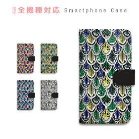 スマホケース 全機種対応 手帳型 携帯ケース 羽根 孔雀 ラメ風 アフリカン ネイティブ テキスタイル クール スマートフォン ケース 手帳型ケース iPhone11 Pro Max iPhone XS Max XR X iPhone8 7 Xperia XZ3 XZ2 XZ1 XZ Z5 AQUOS sense R2 GALAXY S9 ARROWS BASIO3