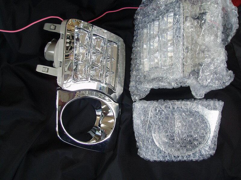 エムブロ ZVW30 プリウス 前期専用 LEDフロントウインカー&フォグカバーSET