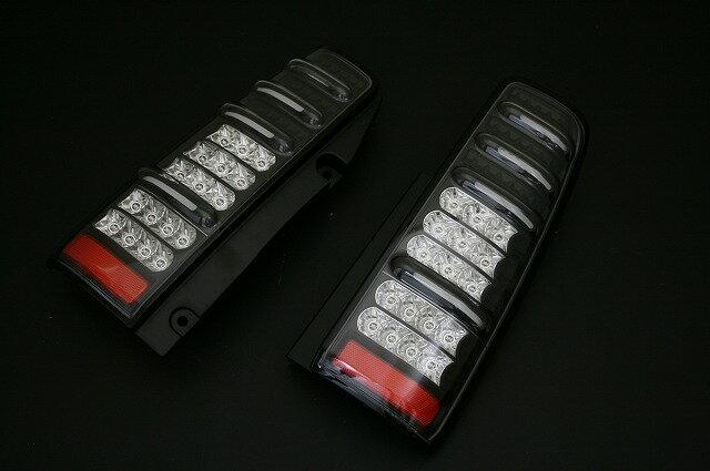 エムブロ ジムニー JB23W LEDテールランプ 流れるウインカー【切り替えスイッチ付】BKリム コーリン MBRO JB23W