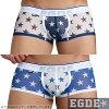 EGDE STAR SEE-THROUGH super low-rise boxer underwear