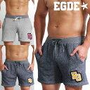 EGDE← SUPER LIGHT SWEAT メランジ ショート スウェットパンツ Shorts