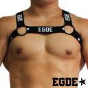 EGDE←RING BLACK BAND Harness スポーティー ハーネス 黒