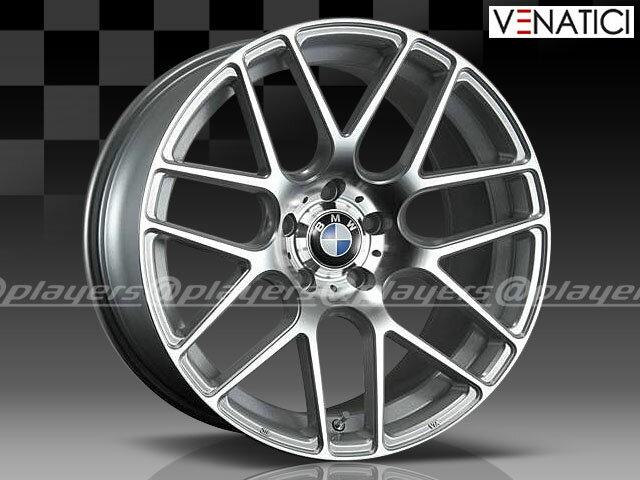 BMW 3シリーズ F30/F31/F34 新品 ヴェナティッチ C-72M 19インチ ホイール SIL 1台分 純正キャップ付き