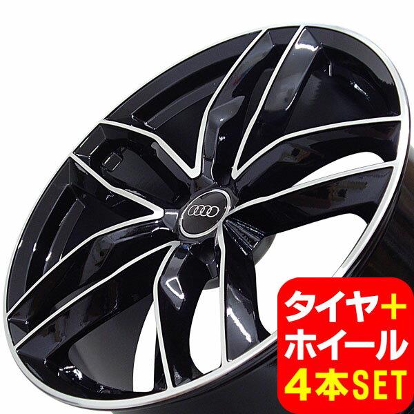アウディ TT/TT-S(A5) FV/8J系 新品 A-1196 19インチ タイヤホイール 245/35R19 PBK 4本セット
