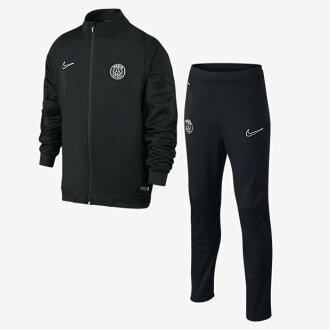 Paris Saint-Germain Nike PSG DRI-FIT REV sideline nit warm up suit top and bottom set Jersey