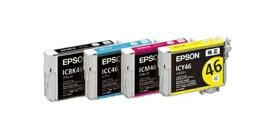 EPSON IC4CL46 【訳あり】【純正品】【箱なし】092◇4 エプソン IC4CL46 4色セット (ICBK46 ICC46 ICM46 ICY46) 純正インクカートリッジEPSON純正インク エプソン純正インク