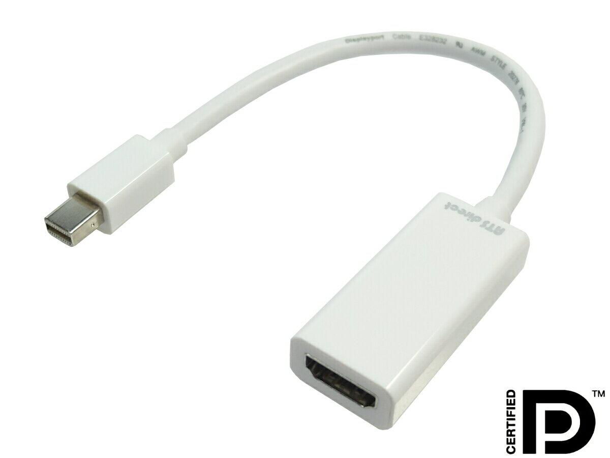 ★ネコポス送料無料★ 4K対応可 Mini Displayport-HDMI 変換ケーブル 0.2m