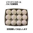 軟式テニスボール バルブ式 ソフトテニスボール 白12個(1打) 中学生テニス部 練習球 tennis 軟式テニスボール なんしきテニスボール…