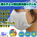 【ポイント10倍】冷感マスク オールシーズンマスク ひんやりマスク 気化熱冷却 洗えるマスク 小さいマスクSサイズ(園児・学童) マス…