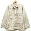 新品◆アメリカ軍 PROPPER プロパー BDU コンバットジャケット リップストップ生地 カーキ♪軍物 ミリタリー アーミー…