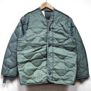 新品◆米軍 実物 M-65フィールドジャッケット キルティングライナー ボタン付き♪アメリカ軍 放出品 本物 オリジナル …
