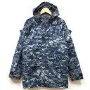 【送料無料】新品◆実物 米海軍 ECWCS GEN2 ゴアテックスパーカー NWU デジタル迷彩 GORE-TEX♪ミリタリージャケット …