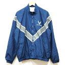 【中古】良好品◆実物 米空軍 US.AIR.FORCE 薄手 フィジカル ウィンドブレーカー ジャケット ネイビー ♪ミリタリー …