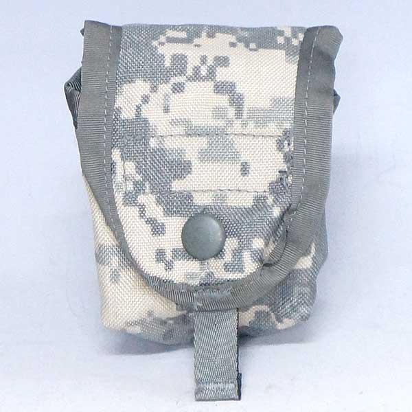 新品◆実物 アメリカ軍 ACUデジタル カモフラージュ マガジンパウチ♪ミリタリー 米軍 放出品 迷彩 軍物 アウトドア 迷彩 小物入れ