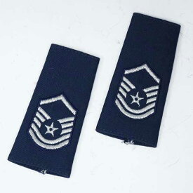 新品◆実物 米空軍 U.S.AIRFORCES エアフォース肩階級章 右左セット♪シャツ、ジャケット用エポレット 筒状 軍物 ストリート サバゲ