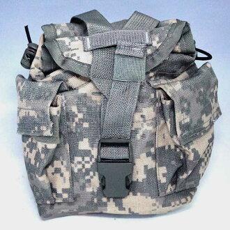 全新 ◆ 真正美國陸軍 ACU 數碼迷彩食堂郵袋 ♪ 軍事美國陸軍剩餘偽裝軍的戶外美國偽裝手套