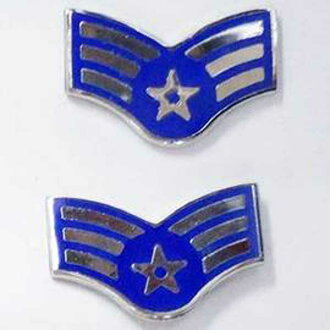 Brand new ◆ real us air force air force military pins 2 pieces set dead stock. military badges-armed forces of United States Army