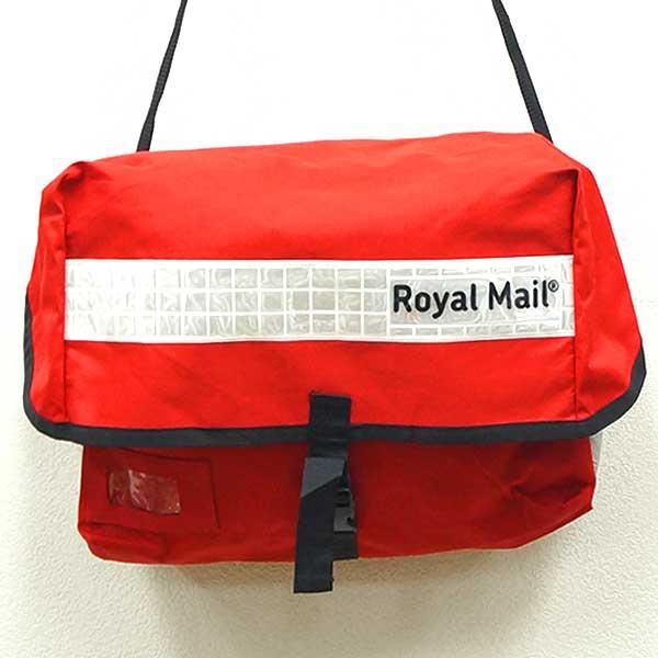 【中古】◆イギリス郵政公社 Royal Mail/ロイヤルメール 郵便局員用 大型ナイロンショルダーバッグ♪ミリタリー 放出品 軍物 アウトドア ユーロ【楽ギフ_包装】