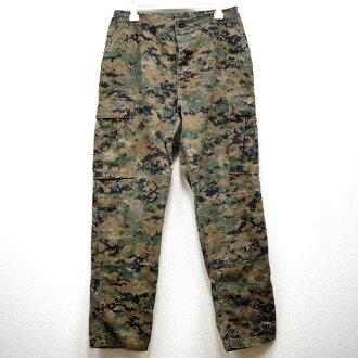 美品◆實物美國海軍USMC MARPAT(mapatto)數碼野鴨畫素貨物褲子♪軍事US ARMY美國戰鬥僞裝色軍麵包